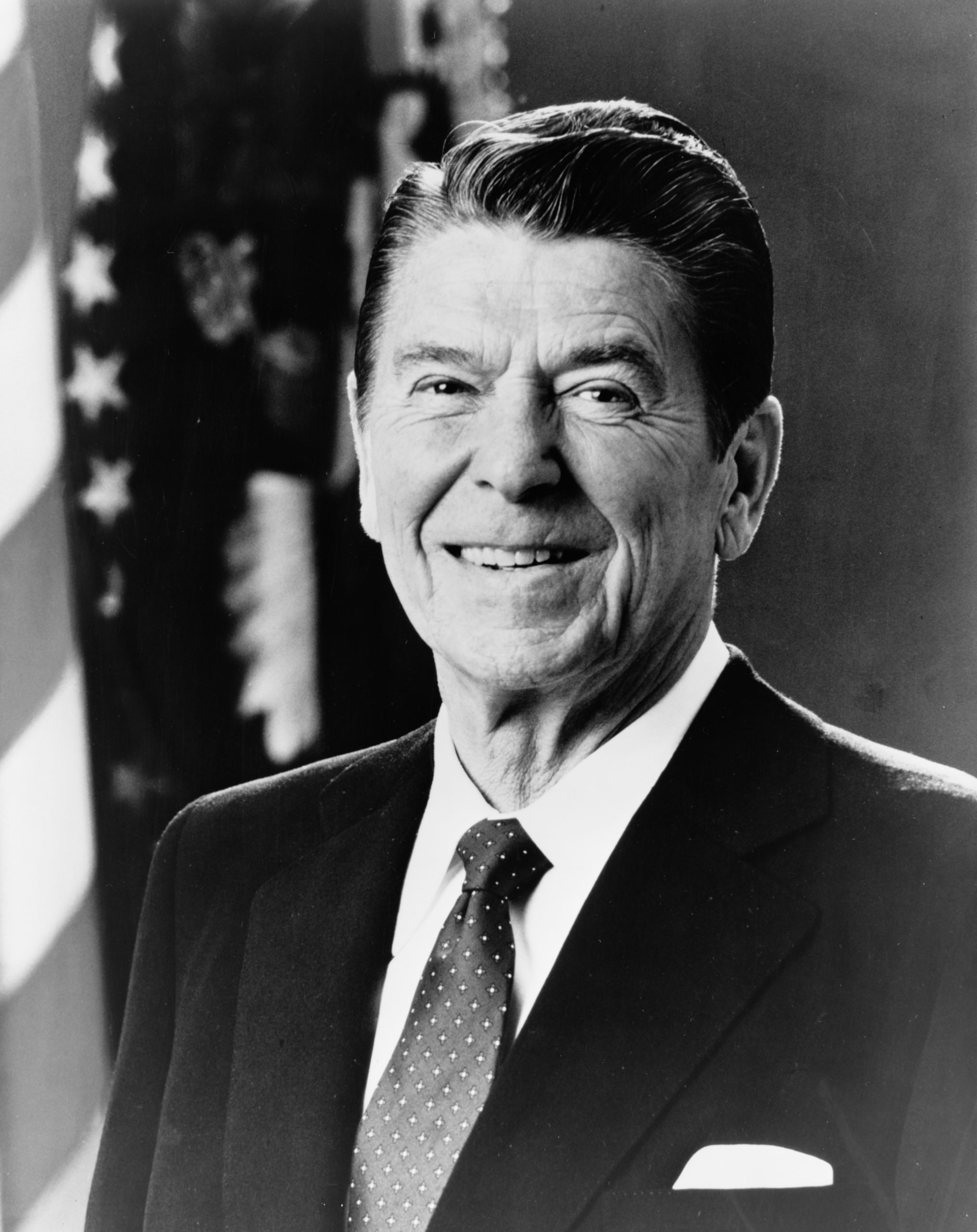 Ronald Reagan - Photo from library-of-congress-2hAb4ChULcA-unsplash